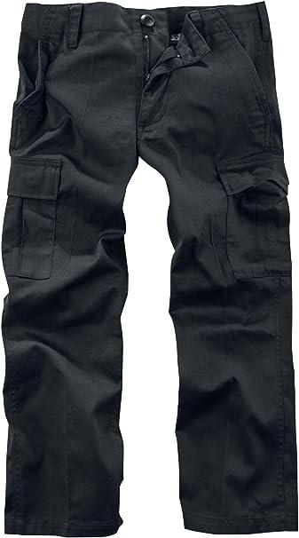 Brandit Pantalones Ranger Kids Pantalones de chándal Negro 170/176 ...