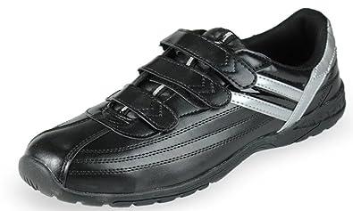 DDTX Hombres de acero de punta anti-punción ligero calzado de seguridad Negro(43) uKTHj96Io
