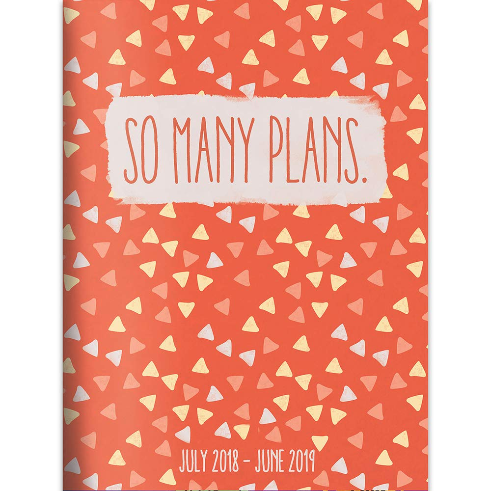 "Download TF Publishing 19-4240A July 2018 - June 2019 So Many Plans Monthly Planner, 7.5 x 10.25"", Orange & White pdf epub"