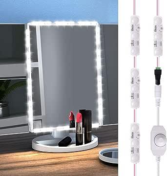 GEEKHOM Vanity Mirror Lights, LED Makeup Light Strip ...