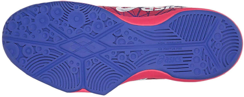 ASICS Damen Gel-Fastball 3 Handballschuhe 4801 Blue Purple/White/Rouge R