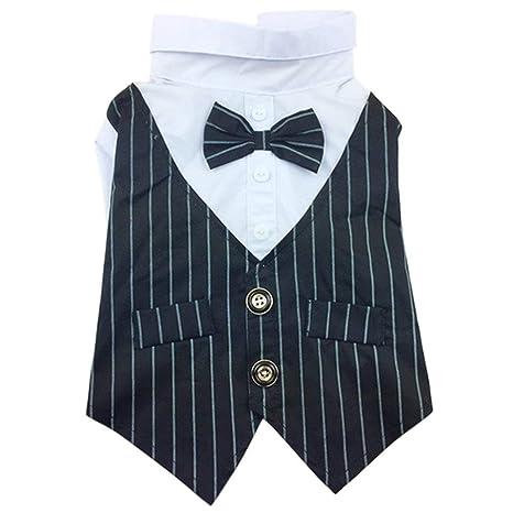 Yonfan - Disfraz de Tuxedo para Perro, Traje Formal de Boda ...