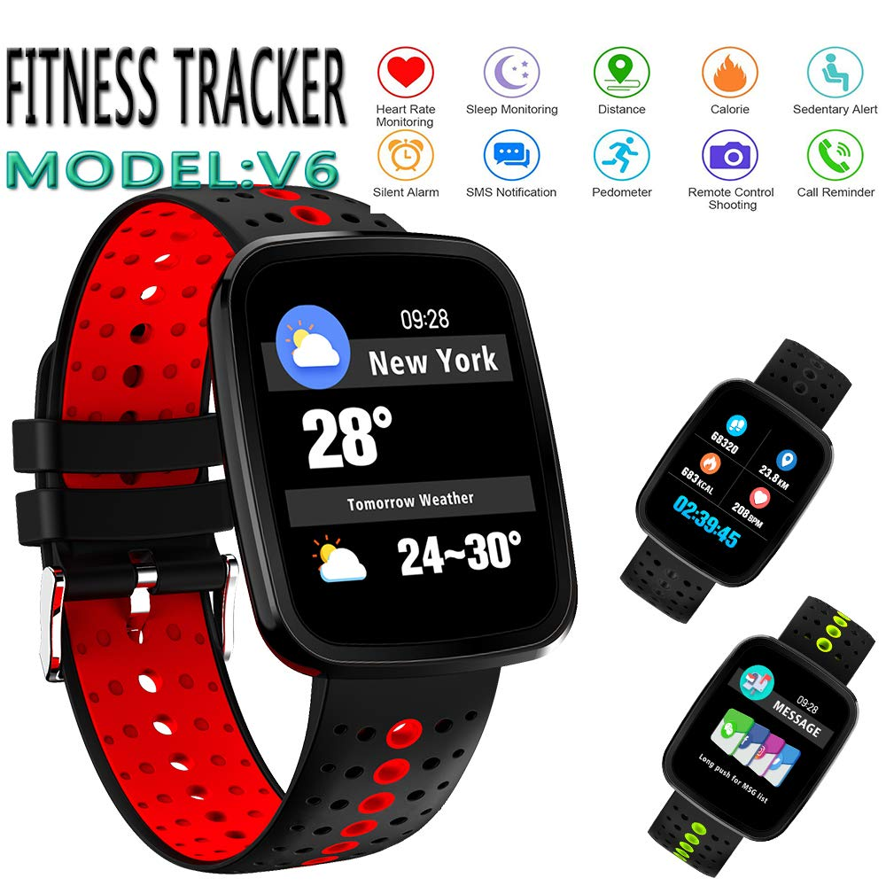 UHOOFIT Fitness Tracker Watch, Activity Tracker, IP67 Waterproof Smart Bracelet with Step Counter Pedometer, Sleep Monitor, Calorie Watch for Kids ...