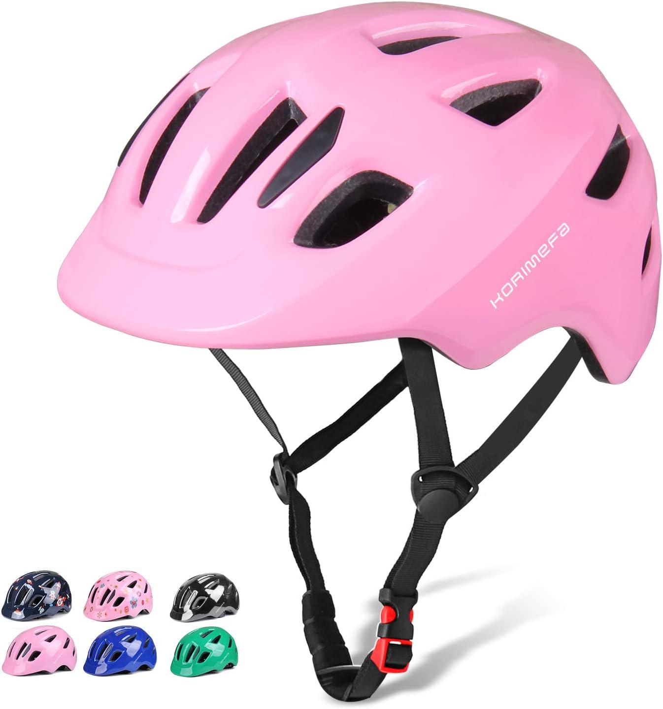 KORIMEFA Casco de Bicicleta para ni/ños 2-8 a/ños Casco de ni/ño Scooter para beb/és Ni/ñas Ni/ños Casco Ajustable Certificado por CE para patineta