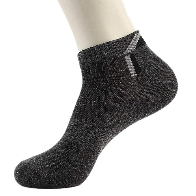 SKNSM Shorts deportivos Calcetines de fútbol/fútbol / hockey para hombres Calcetines de tobillo Calcetines sigilosos Calcetines atléticos Calcetas de tubo ...