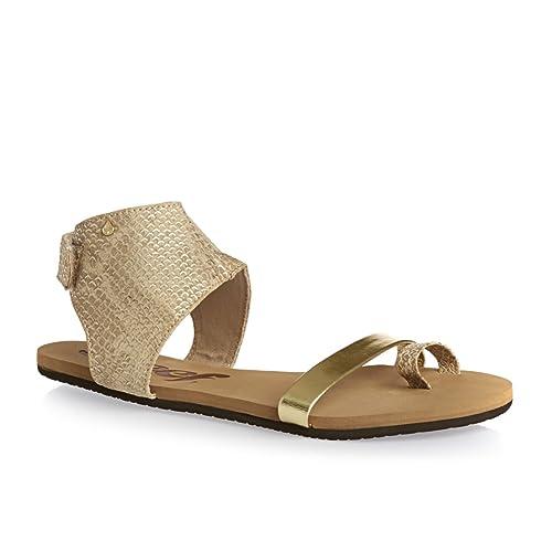 7d6cdcfc5d30d adidas Girls' Hampton Beach & Pool Shoes, Brown Braun/Gold, 2.5 UK: Amazon. co.uk: Shoes & Bags