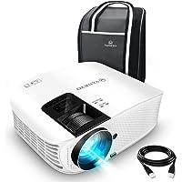 VANKYO Leisure 510 Vidéoprojecteur Rétroprojecteur 4500 Lumens LED Projecteur Soutien HD 1080p ,200 '' Affichage, HDMI, AV, VGA et USB