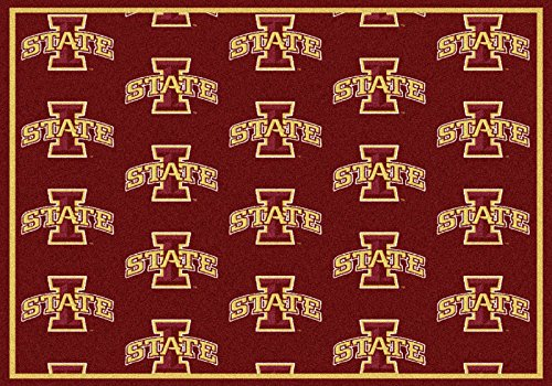 NCAA Team Repeat Rug - Iowa State Cyclones, 7'8'' x 10'9'' by Millilken