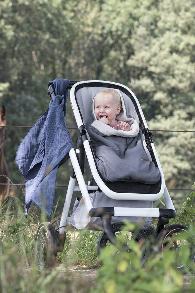 Babys Only 231324 Musselin Fu/ßsack f/ür Babyschale Breeze anthrazit