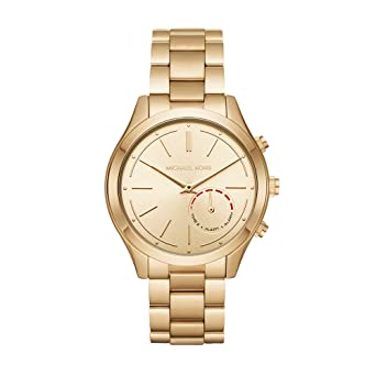 a26a32e237ca Amazon.com  Michael Kors Access Hybrid Gold Slim Runway Smartwatch ...