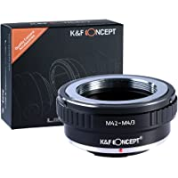 K&F Concept Lens Mount Adapter for M42 Screw Mount Lens to Micro 4/3 Four Thirds(MFT, M4/3) Mount Camera,Fits for Olympus Pen, Panasonic Lumix,OM-D and BMPCC