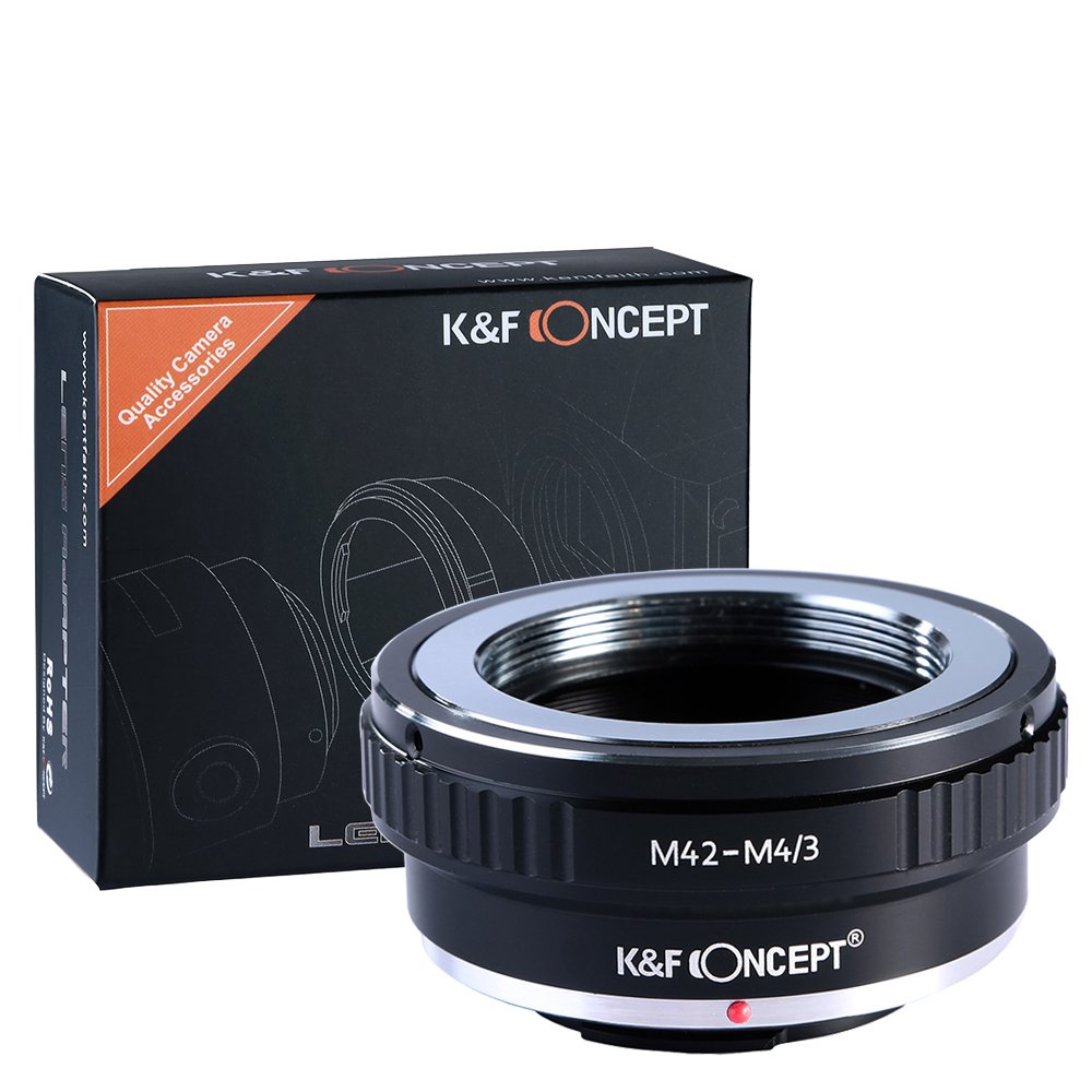 M42 to Micro 4/3, K&F Concept M42 Screw Mount Lens to Micro 4/3 Four Thirds System Camera Mount Adapter for G1 GF1 GH1 E-P2 E-P1 M42-M43 Camera Shenzhen Zhuoer Photograph KF06.076