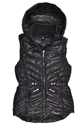5b5d6c68b5bd Amazon.com  XOXO Big Girls Hooded Puffer Vest  Clothing