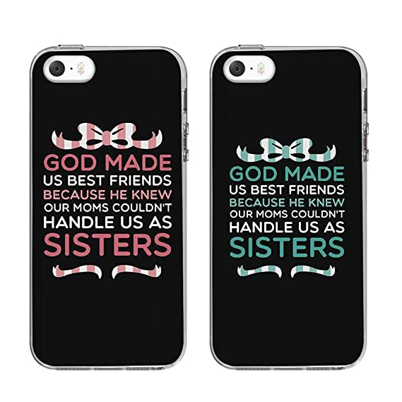 low cost d1ac4 dd327 NEW IPHONE SE BFF CASE,Cute BFF Phone Cases - God Made Us Best Friends  Phone Covers for iphone 5s, iphone 5.birthday gift, best friends gift.