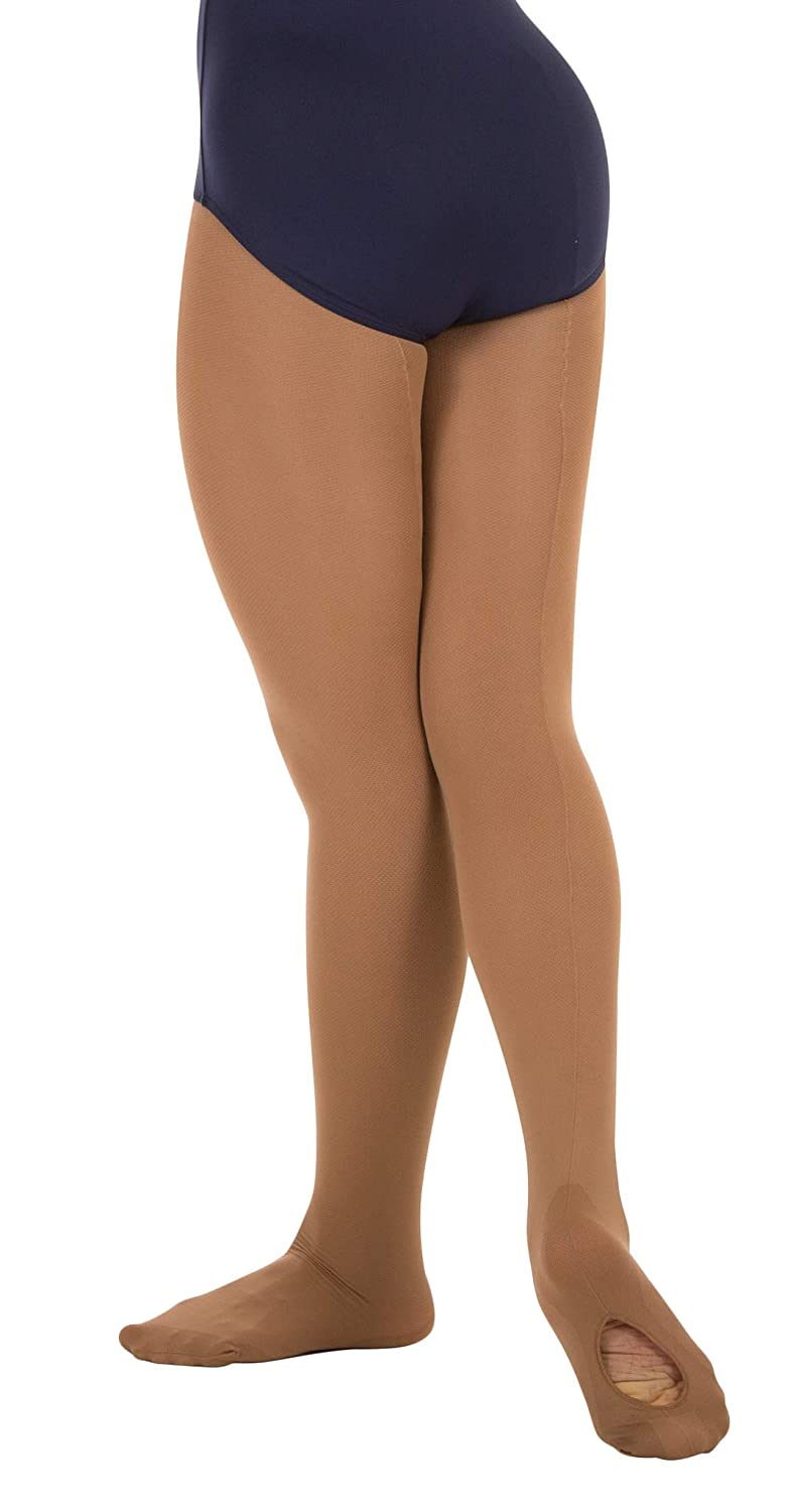 78e710c5a68a3 Amazon.com: Body Wrappers C45 TotalSTRETCH Girls' Mesh Backseam Convertible  Tights: Clothing