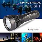 Diving Flashlight,Dafana Underwater 500M 5000LM XM-L T6 LED - Best Reviews Guide