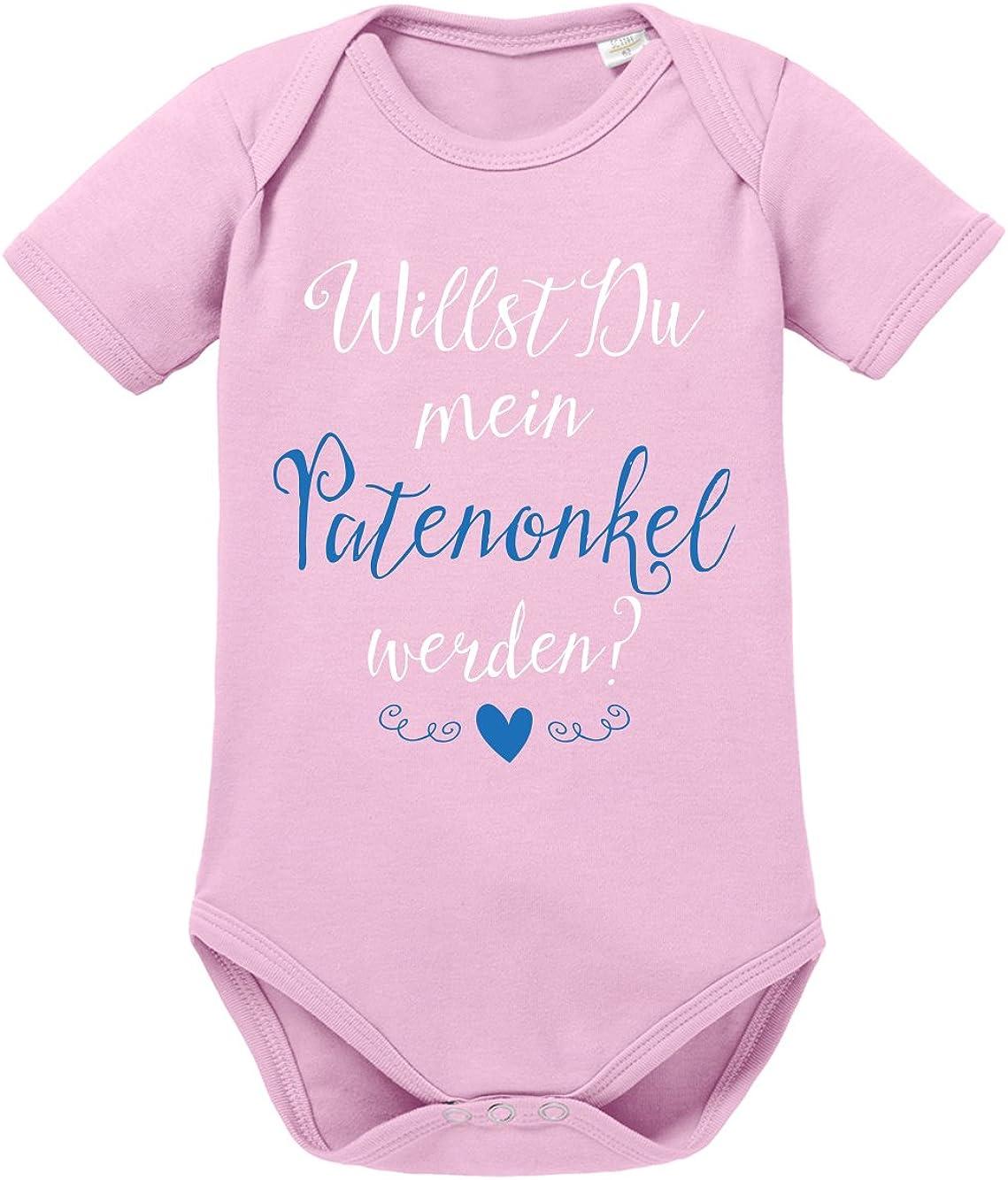 Babybody Baby Body Pateneltern werden Patentante Patenonkel Taufe Strampler