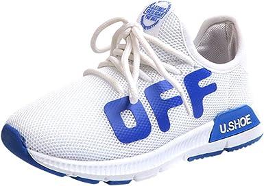 YanHoo Niños pequeños Deportes para niños Zapatos para Correr para ...