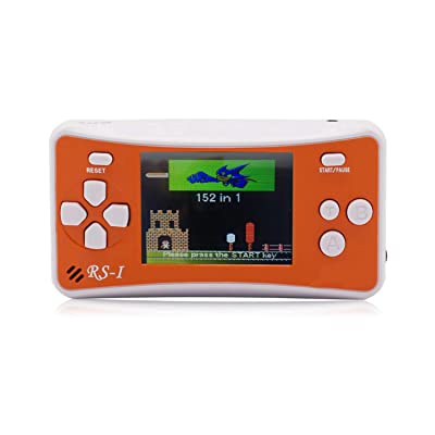 "OctiveMe RS-1 Portable Video Game Player for Children|Retro Handheld Game Console|2.5"" LCD,Built-in 152 Classic Games Entertainment