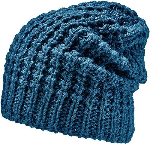 Sara Invierno tamaño Talla azul Unisex Azul Color Areco Longbeanie otoño Gorro única a85qI