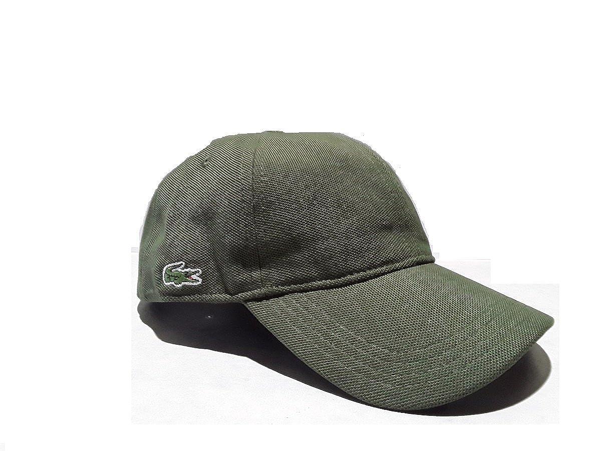 Lacoste - Gorra de béisbol - para Hombre Verde Militar L: Amazon ...