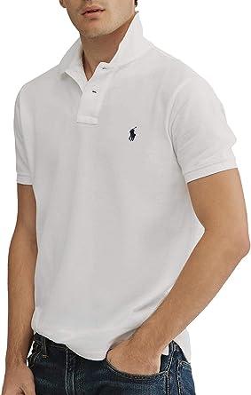 Polo Ralph Lauren Basico Blanco para Hombre: Amazon.es: Ropa y ...
