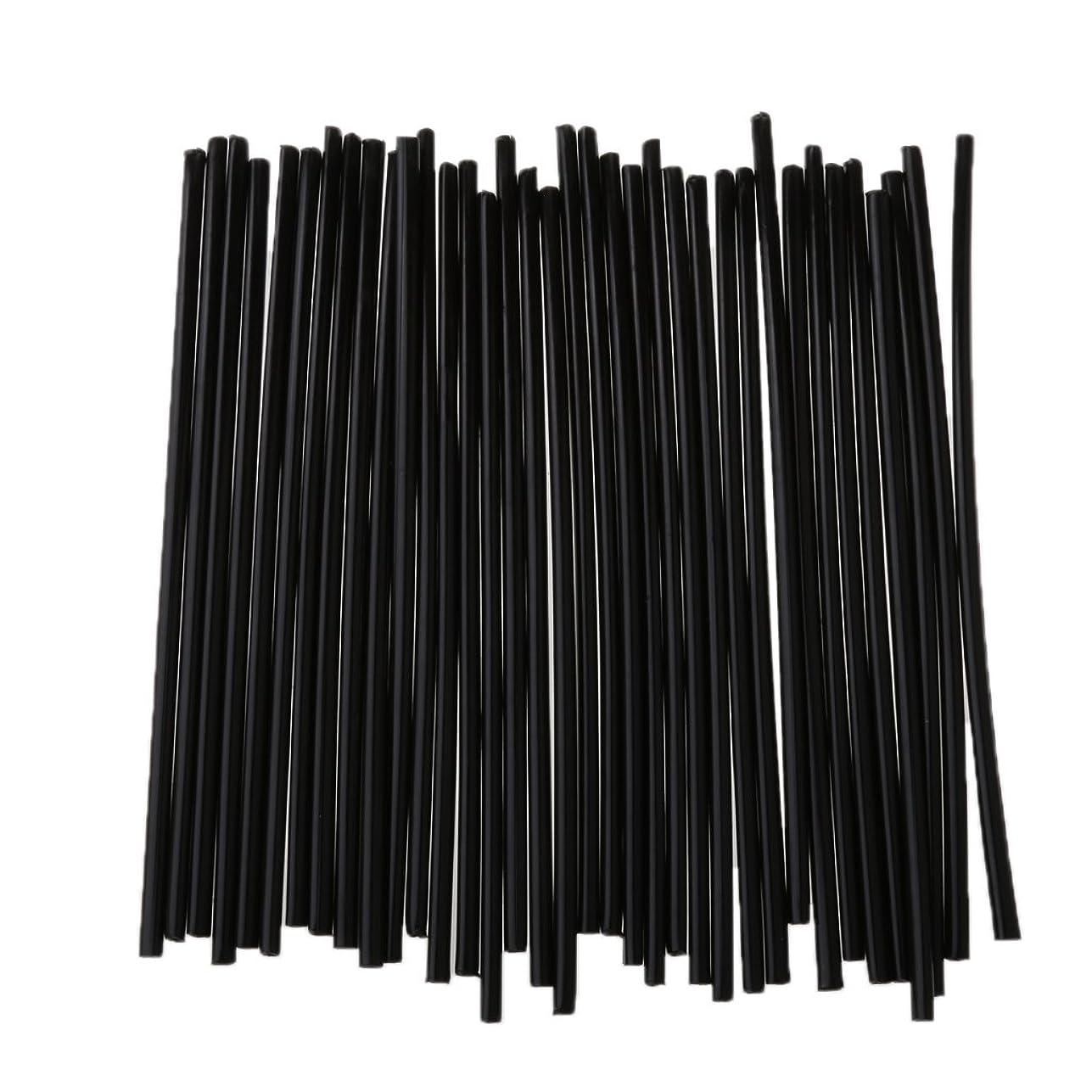 花束吸収するネックレットPerfk 75本入り オートバイ ホイール用 スポークラップ スポークスキン コート リムカバー パイプ 24cm 前後輪用 全10色 - ブラックとホワイト