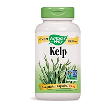Natures WayWay, Kelp, 600 Mg, 180 Capsules