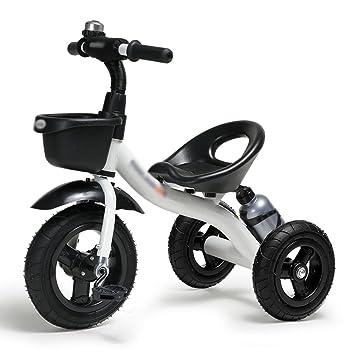 Triciclos Triciclo de niños Bicicleta 2-3-6 Años de edad Bicicleta de coche Carro de bebé Trike Niños 3 Ruedas 6 kg (Color : Blanco) : Amazon.es: Juguetes ...