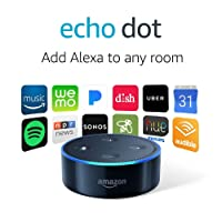 Deals on Echo Dot 2nd Generation Smart speaker with Alexa