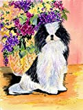 Caroline's Treasures SS8299CHF Japanese Chin Flag Canvas, Large, Multicolor Review