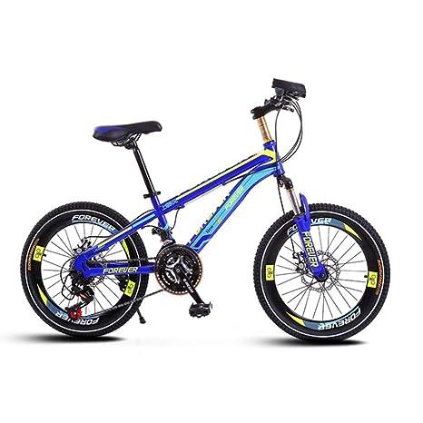CHEZI Light bicycleBicicleta de montaña Frenos de Disco de ...