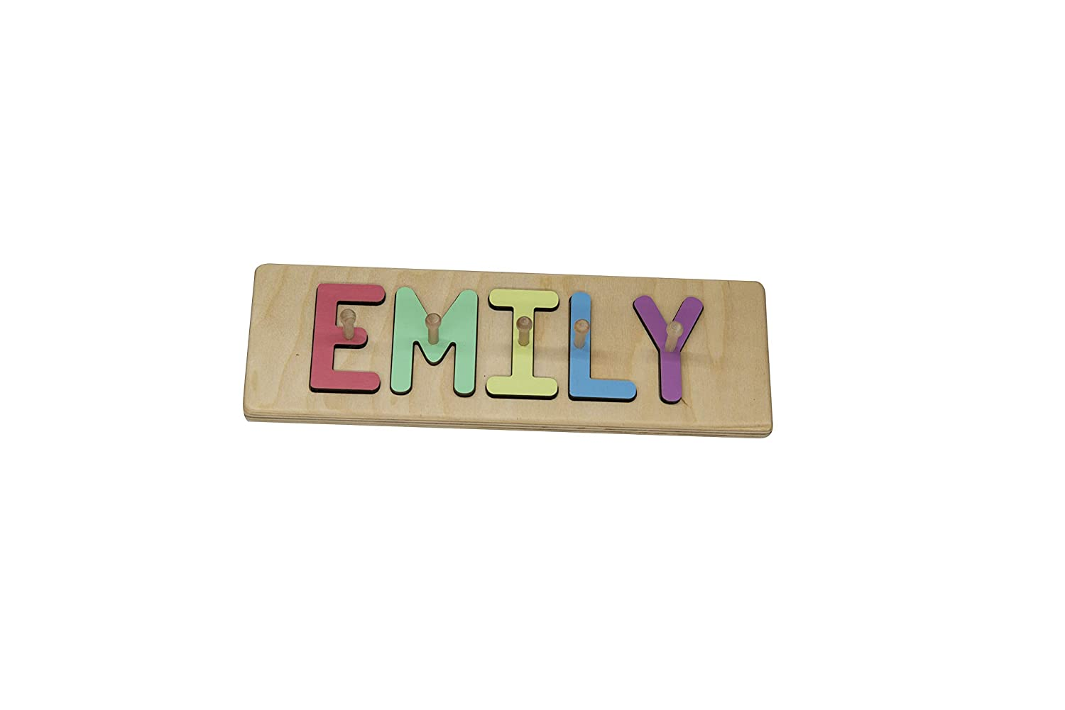 South Bend Woodworks Custom Wooden Name Puzzle