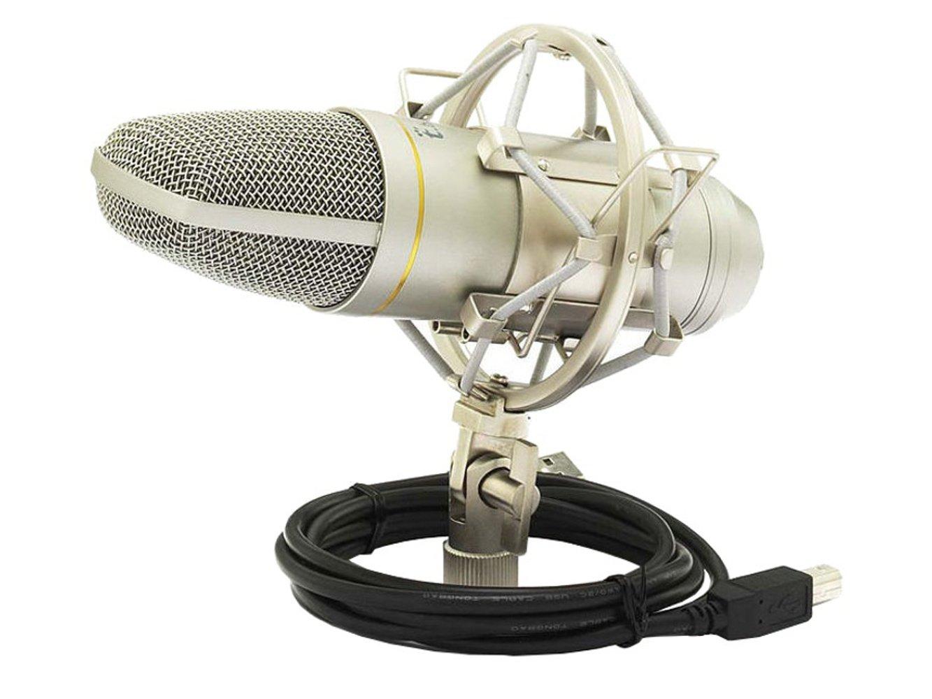 Thomann The T. Bone SC 440 USB Podcast Bundle micrófono con soporte y tapa: Amazon.es: Instrumentos musicales