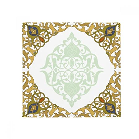 Diythinker Rahmen Barock Modern Blumen Parallel Muster Rutschfeste