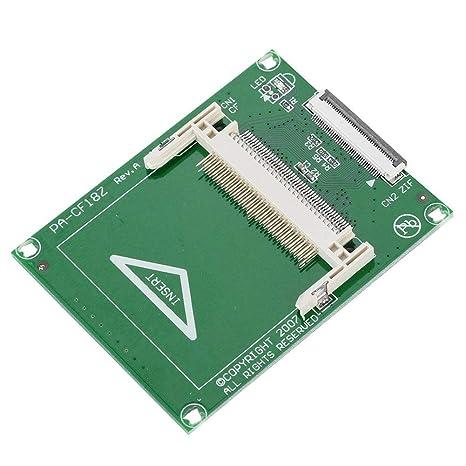 ASHATA Tarjeta Adaptadora, Tarjeta de Memoria Compact Flash ...