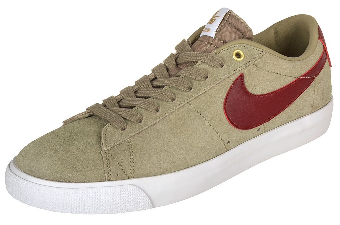 afb70ef0c064 Nike SB Blazer Low Gt Bamboo White Team Red Shoes  Amazon.co.uk  Sports    Outdoors