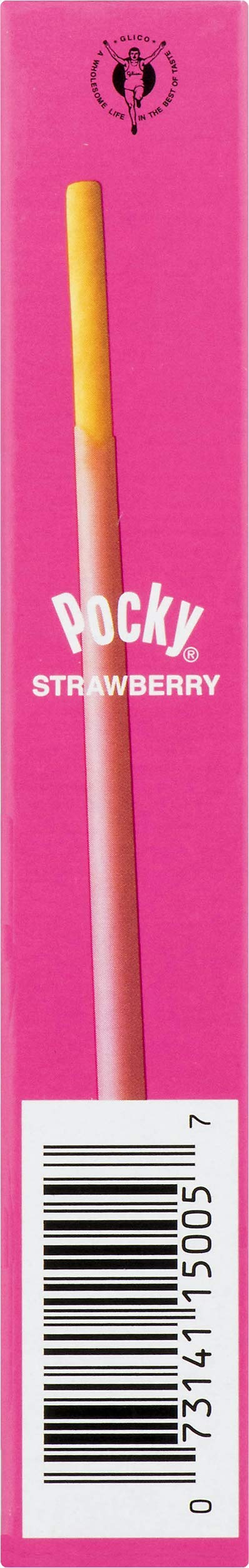 Glico Pocky Biscuit Sticks with Strawberry Cream, 1.41 ounce Boxes - Pack of 14 by Glico (Image #7)