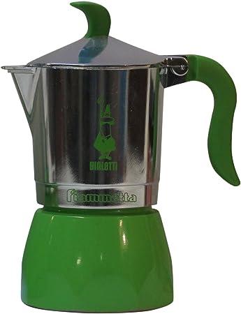 Bialetti: Fiammetta colores 3 tazas verde, nueva forma ergonómica para mango y pomo: Amazon.es: Bricolaje y herramientas
