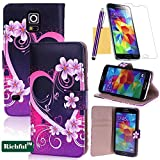 Galaxy S5 Case,Richful(TM) Protective Scrub Leather