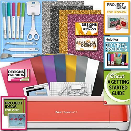 Cricut Explore Air 2 Cherry Blossom Machine IronOn Vinyl Tools Pen Designs Beginner Guide