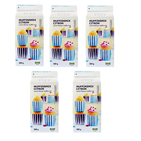 IKEA MUFFINSMIX CITRON Muffin Mix, Lemon Flavor: Amazon.com ...