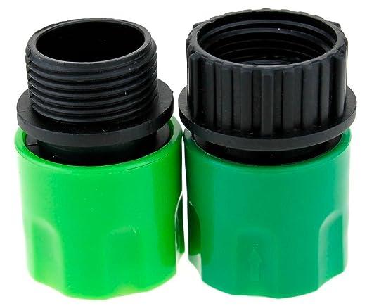 2 opinioni per Topways® Garden Hose Adaptors Connector espandibile Tubo per innaffiare maschio