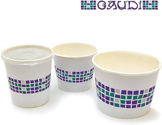 Garcia de Pou 600 Unidad Doble Pared contenedores 960 CC en Caja ...