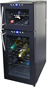 NewAir AW-210ED Wine Cooler, 21 Bottle, Black,