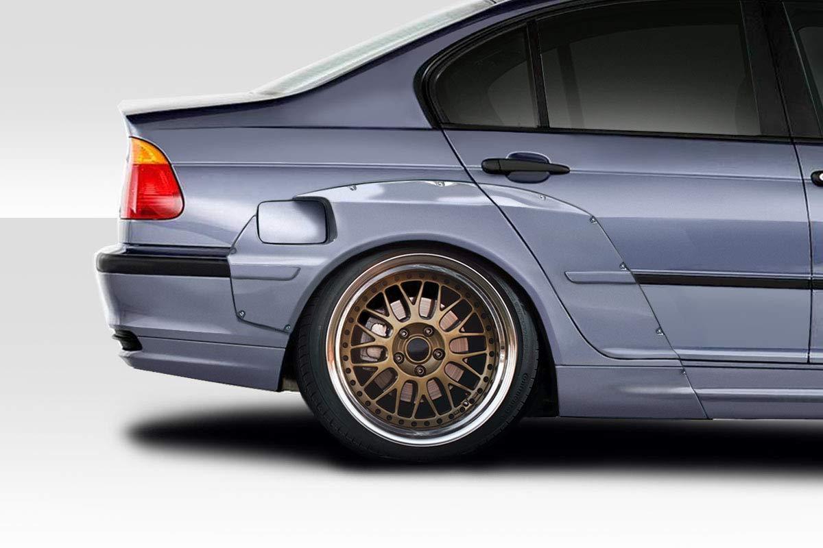 Chrome Trunk Lid For For 1999-2001 BMW E46 3 Series 4 Door Sedan