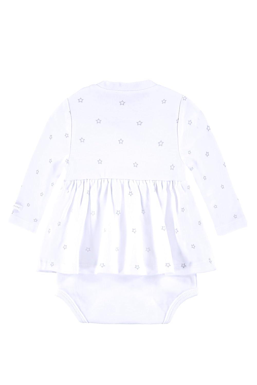 bright White 1000 Kleid-Body 1//1 Arm bellybutton KiKo Unisex Wei/ß Body 68