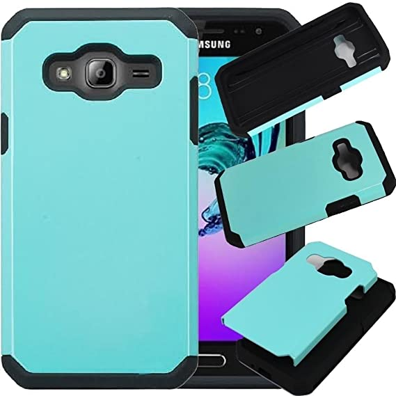 cheap for discount 2cf9a fb0d4 Samsung Galaxy Sky Case, Galaxy Sol Case, Galaxy J3 Case, SOGA [Astro Guard  Series] Hybrid Duo Armor Cover Protector Case for Samsung Galaxy ...