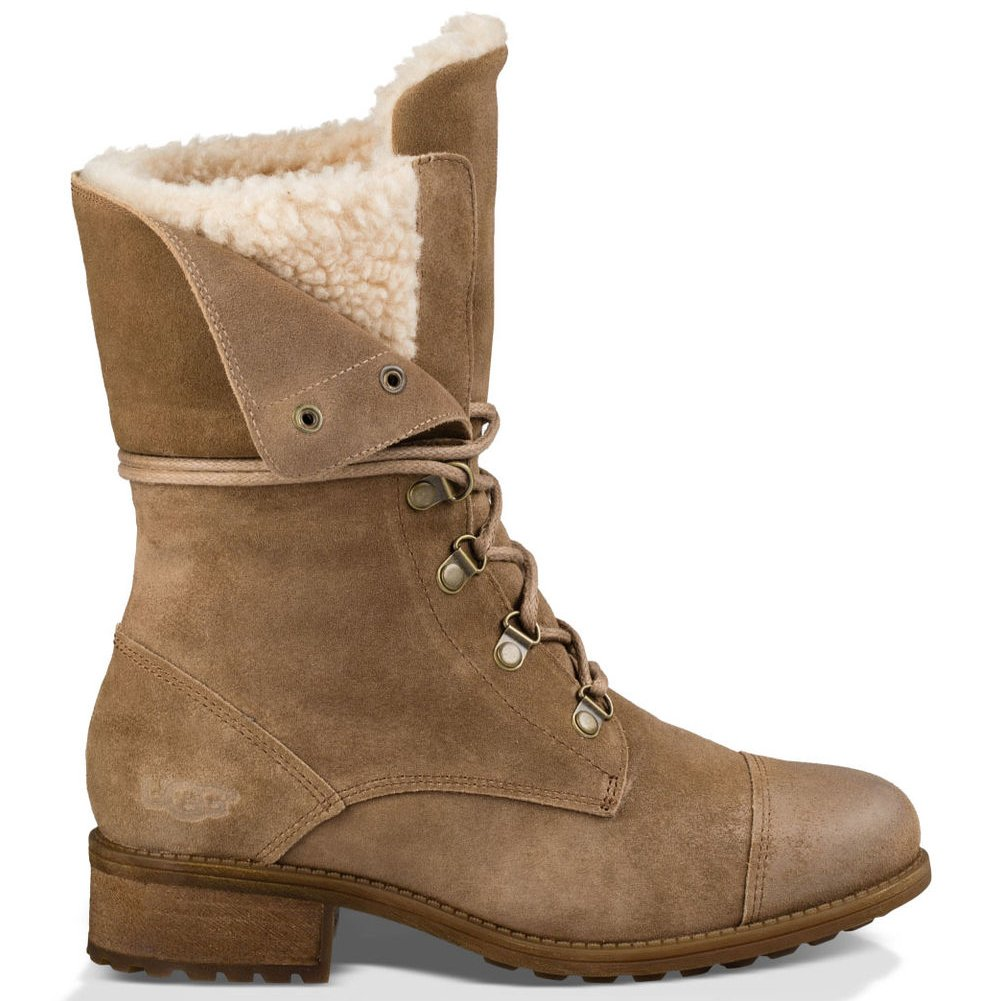 299996a4d2f UGG Women's Gradin Biker Boots Brown Size: 9 UK: Amazon.co.uk: Shoes ...