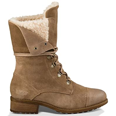 UGG Gradin Lace Up Fold Down Women's Combat Boots